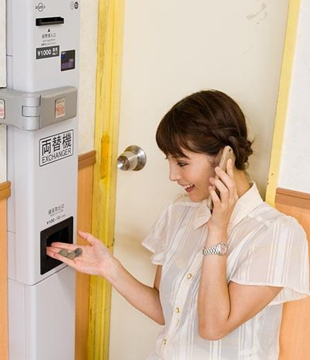返金や機器の作動も、遠隔操作で即対応